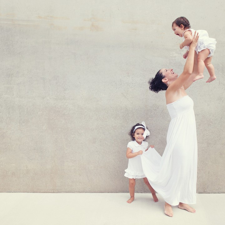 Alyssa and her babies | Merrifield Virginia Family Photographer