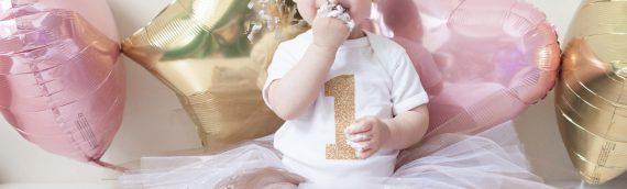 + Janie Smash Cake + Virginia Baby Photographer