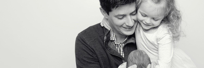 Johnson Newborn Family Portraits | Northern Virginia Newborn Photographer
