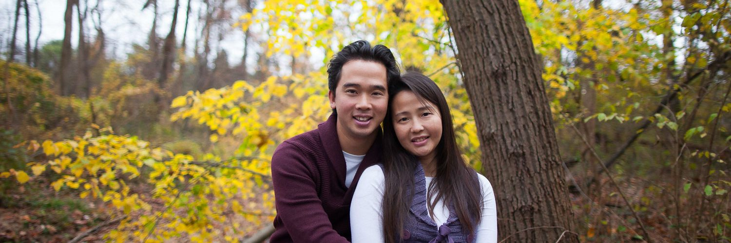 Jason & Vimon Fall Portraits | Virginia Portrait Photographer