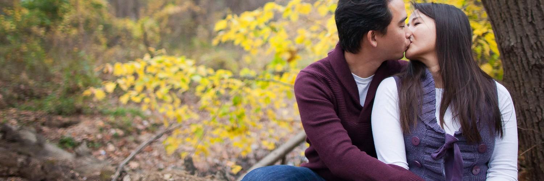 Jason & Vimon Fall Portraits | Virginia Portrait Photographer