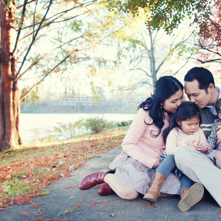 Wong Fall Family Portraits | Virginia Family Photographer