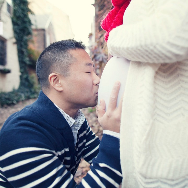 Kang Family | Alexandria Virginia Maternity Photo Shoot