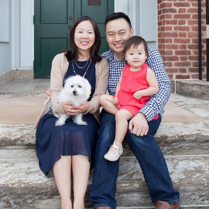 Fine Family Portraits at the Fairfax County Courthouse in Fairfax Virginia | Family Photographer