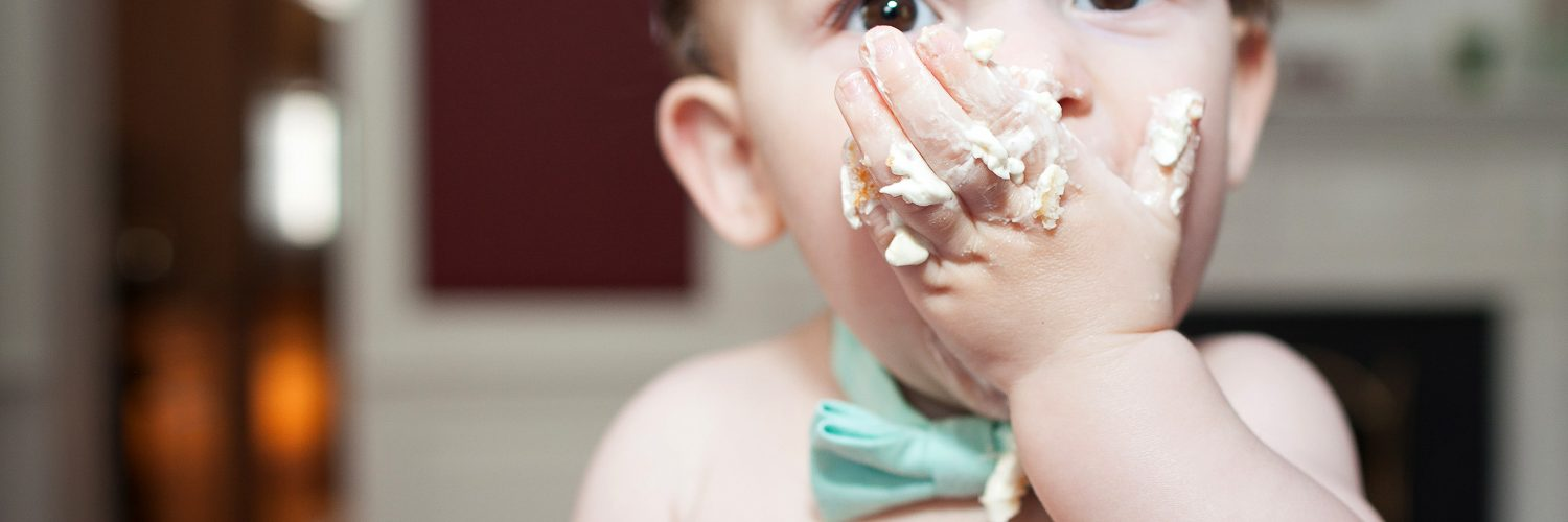 Weston Cake Smash Portraits | Fairfax Northern Virginia Baby Photographer