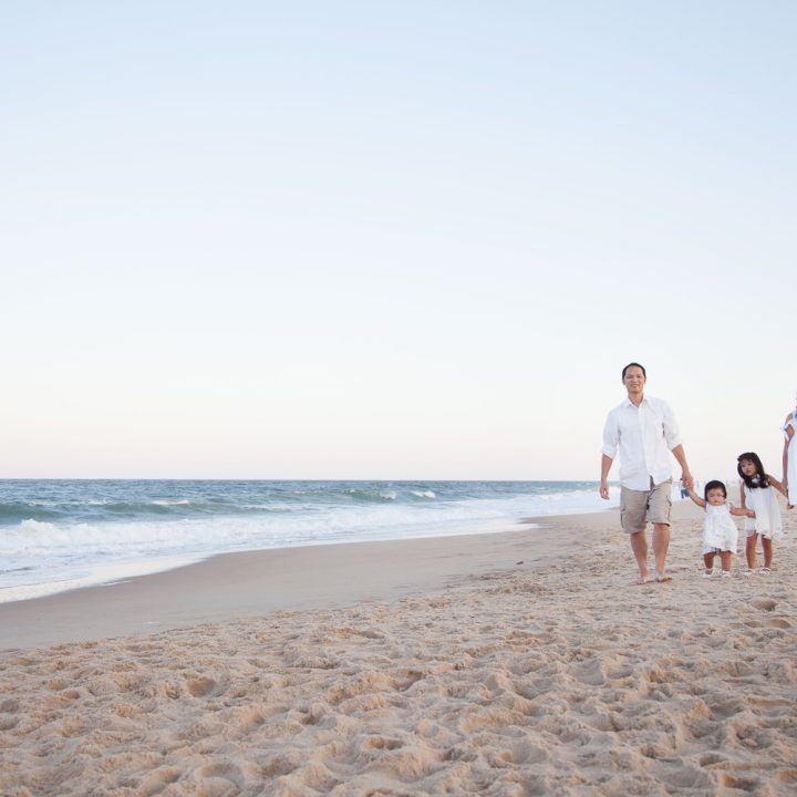 Summer Beach Family Portraits | Northern Virginia Family Photographer
