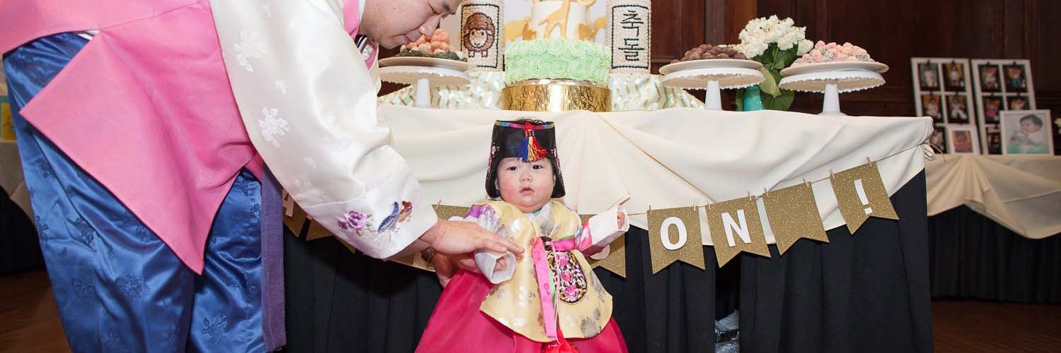 First Korean Dohl Birthday Party | Tysons Galleria Maggianos