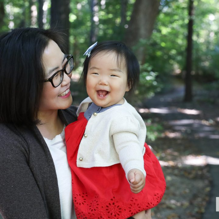 Chung Family Portraits in Falls Church Virginia