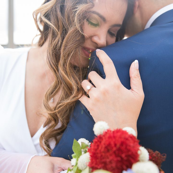 Villagomez Intimate Fairfax County Courthouse Wedding | Fairfax Virginia