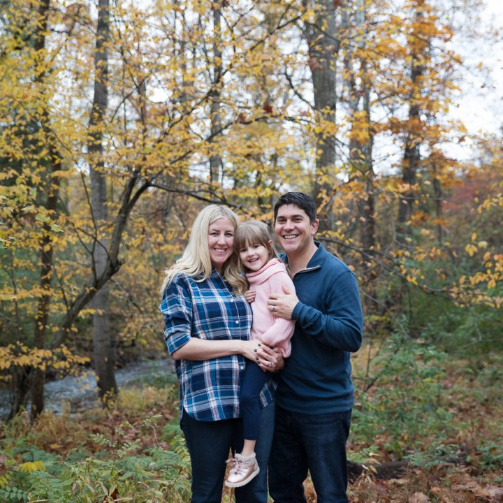 Farias Family Portrait Session at Cabell's Mill | Chantilly, Virginia