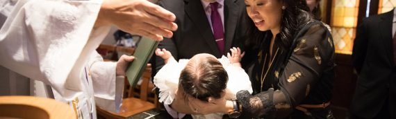 Cooper Baptism at the Dahlgren Chapel of the Sacred Heart (Georgetown University) | Event Photographer